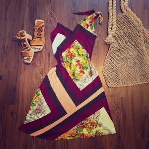 Jean Paul Gaultier floral sheer cotton dress